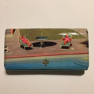 "Kate Spade wallet ""All in a days work"""